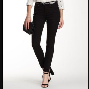 7 For All Mankind- Black Gwenevere Skinny Jean